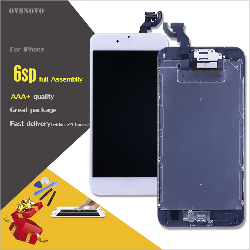 Ovsnovo AAA Quality LCD Full Assembly For Iphone 6s 6s Plus Touch Glass Screen Digitizer Replacement