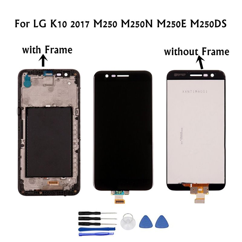 100%Tested 5.3 1280x720 Display For LG K10 2017 LCD with Touch Screen Digitizer K10 2017 Display M250 M250N M250E M250DS100%Tested 5.3 1280x720 Display For LG K10 2017 LCD with Touch Screen Digitizer K10 2017 Display M250 M250N M250E M250DS