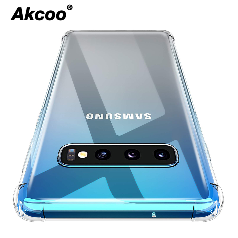 Akcoo Note 10 Case with Anti-Scratch Reinforced Corner Protection Bumper for Samsung Galaxy S8 9 Plus S10 5G Cover  case
