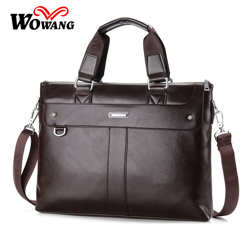 2016 British style Men's Business Briefcase Casual Shoulder Bag PU Leather Messenger Bag Computer Laptop Handbag Men Travel Bags 2016 polo men casual briefcase business shoulder bag pu leather messenger bags computer laptop handbag bag men s travel bags