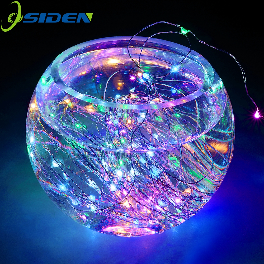 fairy light 2m LED String Battery Powered luces decoracion Decorative Silver String Christmas Light Warm White for Wedding Party