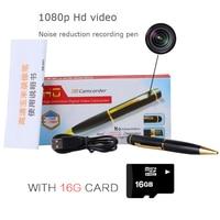Sound Recording Pen Portable HD Voice Recording And Video Camera 1080P With 16G Card Mini Camera