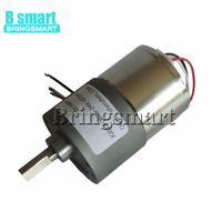 Bringsmart BLDC Brushless DC Motor 12V 24V DC Reducer Electric Motor 7 960RPM High Torque Micro Motor For DIY Parts JGB37 3626