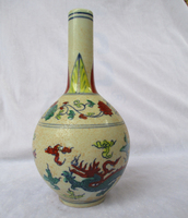 Home Decoration High Quality Chinese Antique Ming Dynasty the Chenghua Porcelain Vase/Classic Ceramic Vases 02