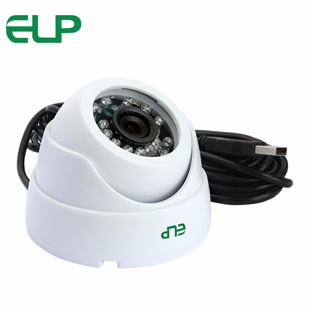 8mm lens MJPEG 30fps 1280*720 OV9712 CMOS webcam 24 PCS IR LED Night Vision White plastic security Dome USB Camera 720P HD 720p 30fps modules webcam cmos ov9712 mini usb camera module for automatic vending machines atm machines