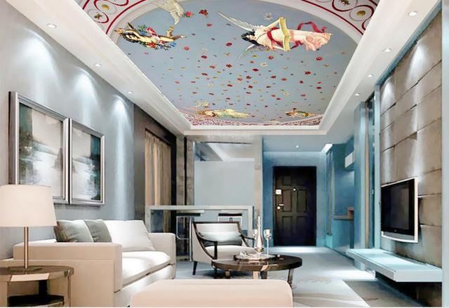 Aanpassen retro behang plafond europa behang voor muren 3 for Behang voor slechte muren