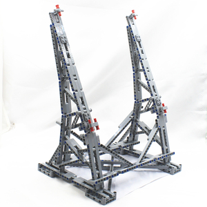 Image 4 - MOC Vertical Display Stand for Millennium toys Falcon Compatible No.05132 and No.75192 Ultimate Collectors Model