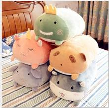WYZHY Pillow long pillow cute lazy plush toy bed doll big super elephant 50CM