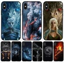 Game of Throne marvel luxury Custom For iPhone X XR XS Max 5 5S SE 6 6S 7 8 Plus phone Case Cover Funda Coque Etui Luxury