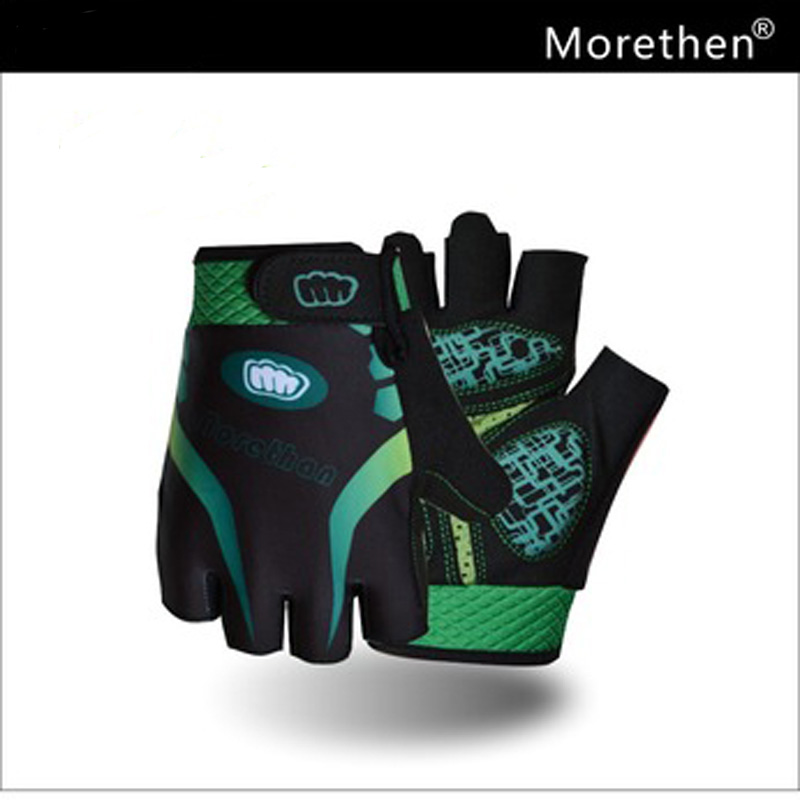 Morethan Brand Summer Gel Pad Cycling Gloves Half Finger Men&Women Mtb Road Bike Anti-slip&Breathable Cycling Gloves