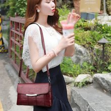 Middle-aged female bag 2019 new autumn and winter mother shoulder Messenger soft leather ladies casual small wild