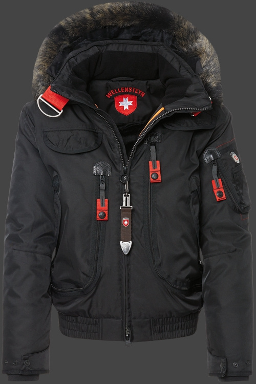 2015 New Wellensteyn Rescue Jacket Men Winter Real Fur
