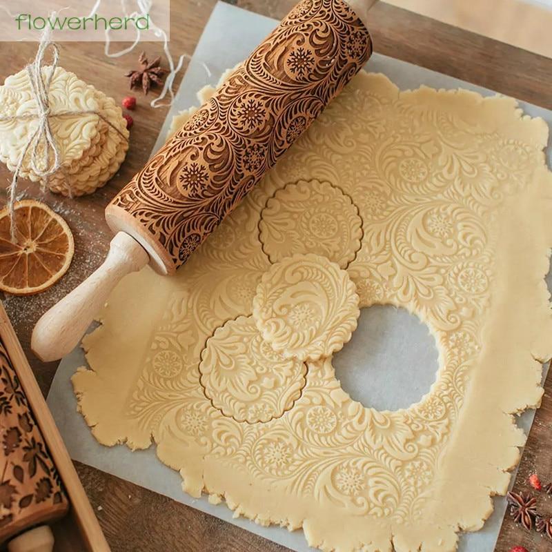 Non-stick Glide fondant Rolling Pin Fondant Cake Dough RollerCake Roller craftNJ