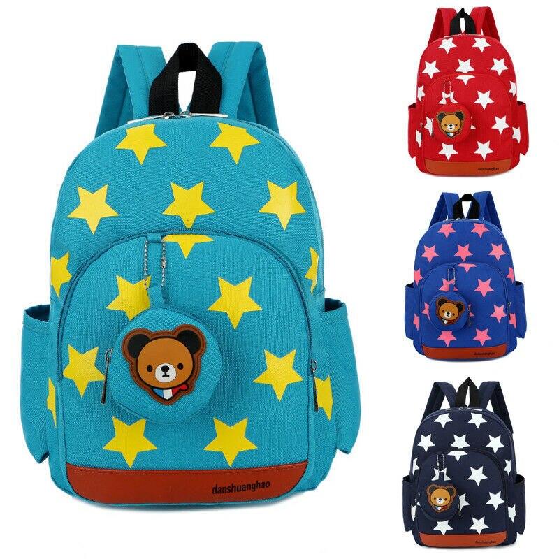 2019 Mode Neue Nette Kinder Kinder Kleinkinder Charakter Rucksack Rucksack Schule Bag Kindergarten