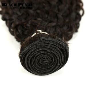 Image 3 - 黒梨 1/3/4 ピースオンブルブラジルキンキーカーリーヘアバンドル織り人毛エクステンション 1B/ 4/30 ブラウン Remy オンブル毛束