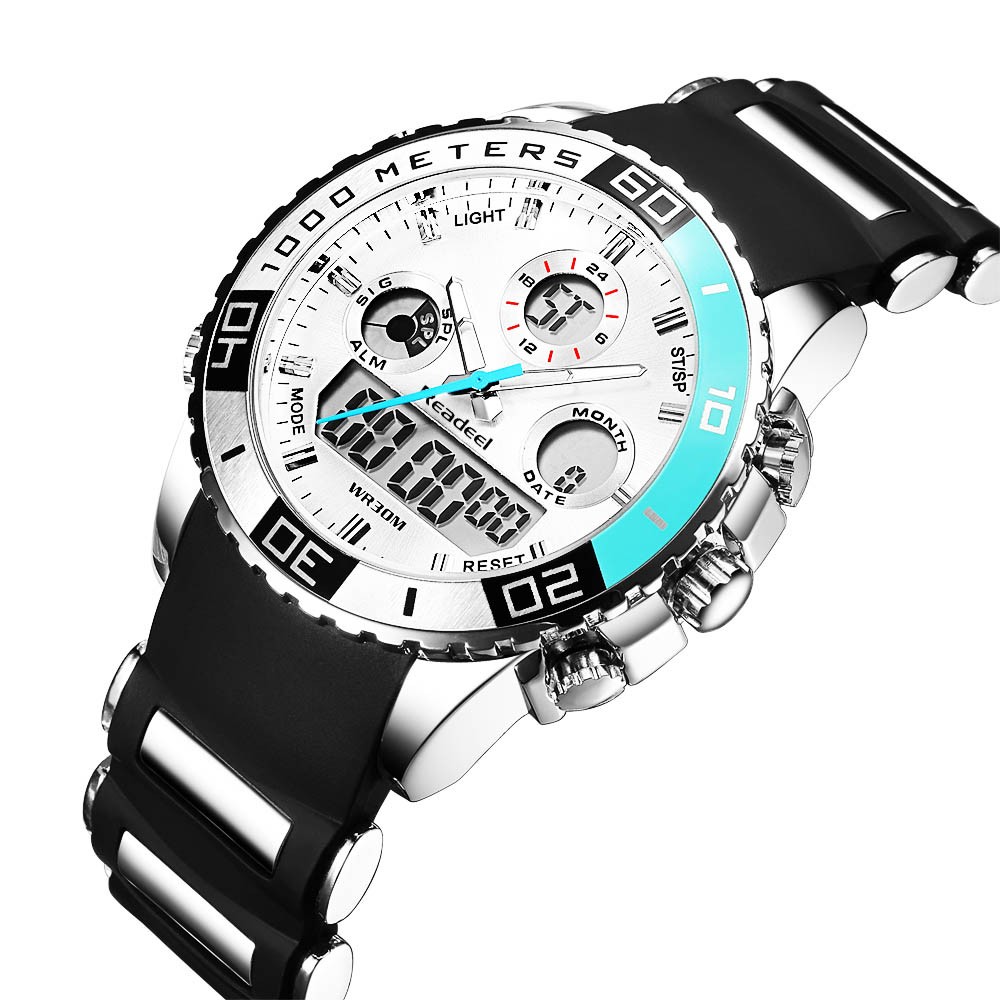 Topdudes.com - Men's Top Luxury Digital LED Quartz Watches