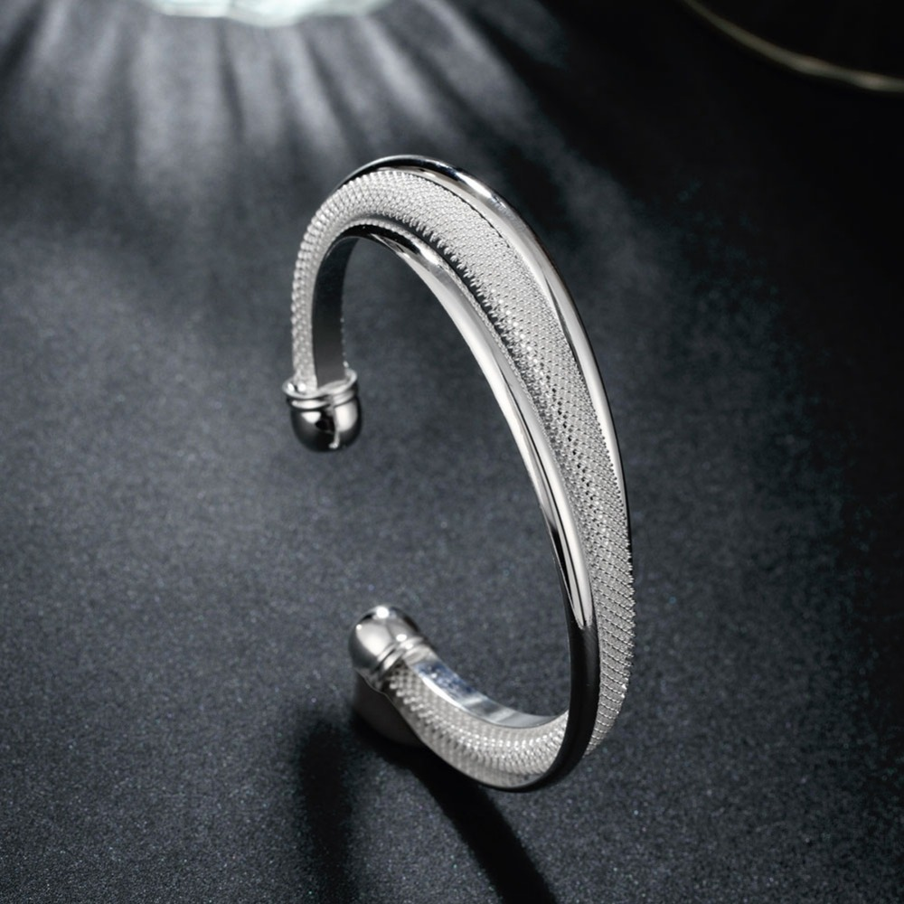 women big bangles bracelets turkish fashion jewelry female hand cuff silver bracelet manchette. Black Bedroom Furniture Sets. Home Design Ideas