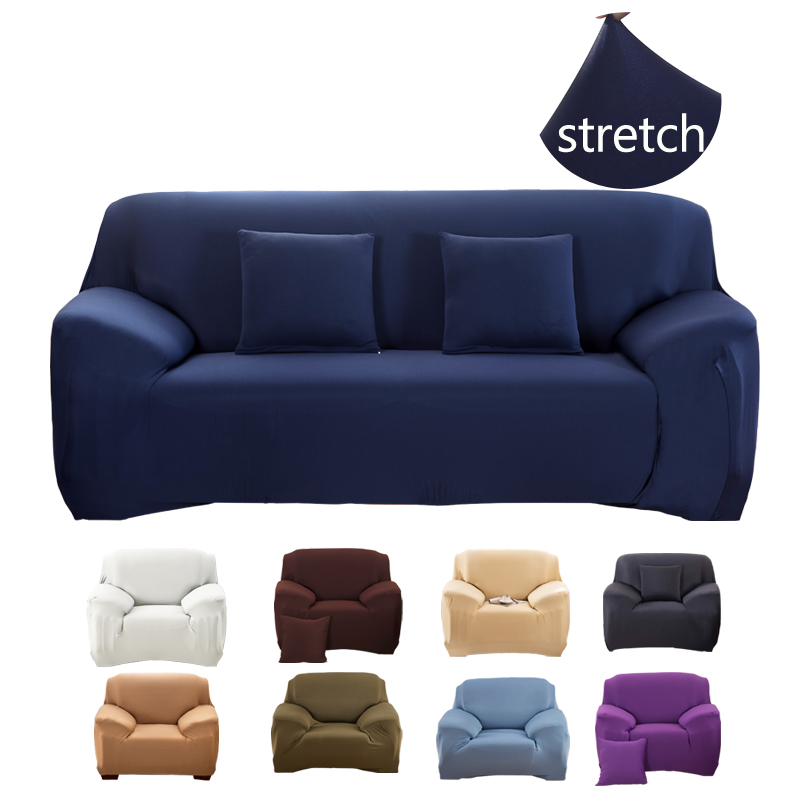 Elastic Sofa Cover For Living Room Sofa Slipcover Couch Cover 1/2/3/4 Seater Corner Sofa Cheap Cotton Covers Copridivano