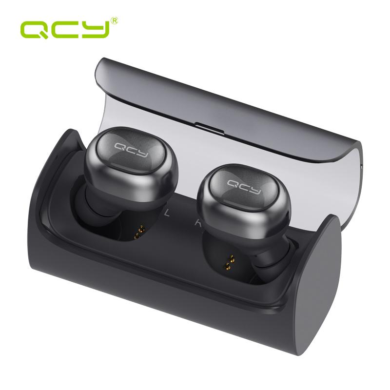 Prix pour QCY Q29 d'affaires écouteurs bluetooth casque sans fil et puissance banque MIC pour iphone 7 tous les bluetooth dispositif appelle musique