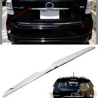 SUS304 Stainless Steel Rear Handle Hatchback Cover Gainish Trim Car Styling Cover Accessories For Toyota Prius Alpha V ZVW40