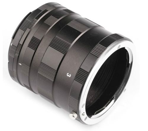 JINTU Metall Macro Extension Adapter Tube Ring für Nikon F montieren D3200 D3300 D3400 D5200 D5300 D5500 D90 D7500 D200 D300 D600
