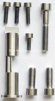 Titanium alloy Bolts / Screws 6pcs/set for Bicycle Birdy Headtube 6pcs lot titanium tc4 bolts screws m8 20 m8 24 m8 33 for motorcycle brake disc fixing