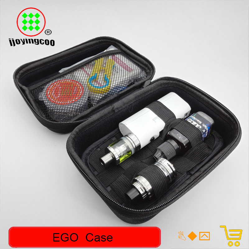 EGO Case Big Size Leather Bag For ego-t ego-w Evod Electronic Cigarette Vape Vapor Carry pliers Tool kits bag with Zipper