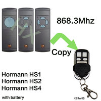 868Mhz Electric Garage Door Remote Control For Hormann HS1 HS2 HS3 Clone