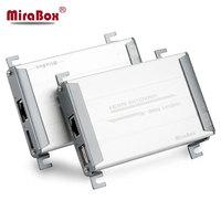 HSV560 MiraBox HDMI USB KVM Extender 80 м точка точка с видео без потерь и без задержки время по UTP Cat5/5e/Cat6 Rj45 LAN