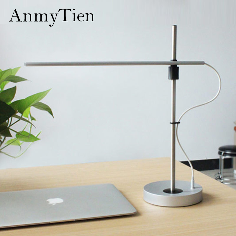 Ultrathin Style Desk Lamps LED 3 Mode Dimming Touch Switch Reading Table Lamp Eye Protect Business Work USB Table Night Light usb rechargeable foldable touch dimming desk lamp 42 led 3 brightness adjustable eye protect ultra thin reading study lamp