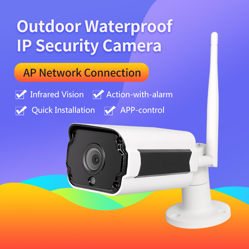 Meisort HD Wi-fi Camera  Home IP Security Wireless  Wifi IP CCTV Camera Outdoor Waterproof Surveillance Night Vision Camera elitepb 1 3mp 960p hd wireless ip camera wi fi indoor outdoor home security camera waterproof day and night