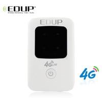EDUP 4G WiFi Router 3G 4G Lte Wireless Portable Pocket Mobile Hotspot Wireless MiFi Unlock Lte Modem Wireless Sim Card Router