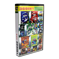 Game Cartridge Console Card 32 Bit Video Game Compilations Collection 369 in 1 English Language Version