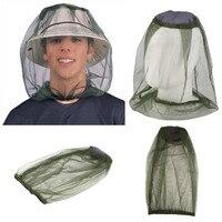 안티 midge 모기 곤충 버그 모자 야외 낚시 모자 버그 메쉬 헤드 그물 모자 커버 캠핑 얼굴 수호자