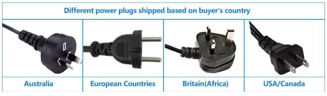 Power adapter type