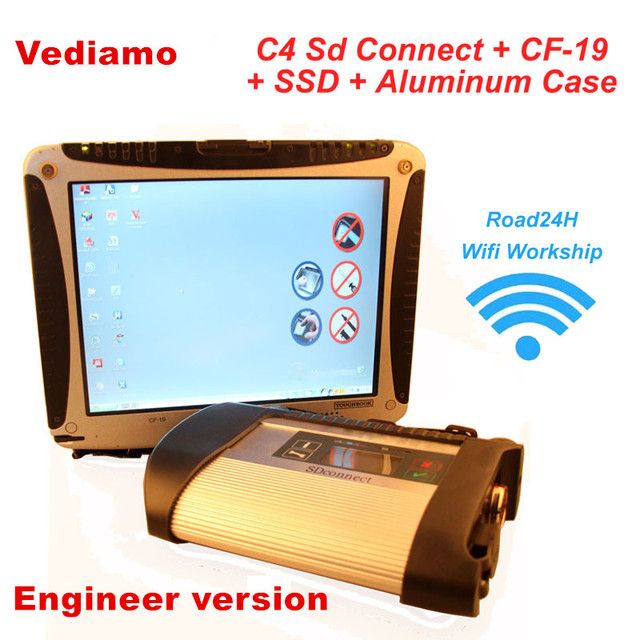 2018.09 CF19 I5/CF30 4 gb MB Étoiles C4 SD Connecter + SSD Xentry Diagnostic Système Compact 4 Diagnostic multiplexeur Pour Benz Diagnostiquer
