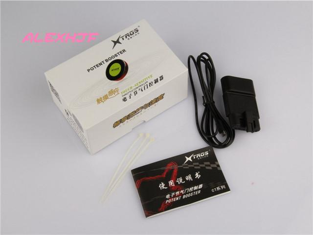 TROS Booster Potent séptima 7-Driver Electrónica 38*8mm táctil Controlador del acelerador, cómodas/Deportes/Racing, dedicado