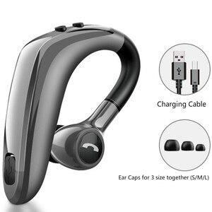 Image 3 - 2pcs Pack bluetooth headset 5.0 wireless headphone earphone super long standby earpiece with Mic Sweatproof Noise Reduction