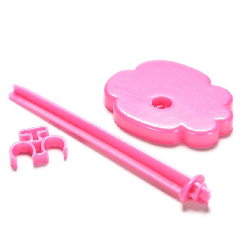 12.8 センチメートル玩具はモデル支持フレームのプロップアップマネキンモデル表示ホルダーピンクオレンジ色の人形アクセサリー