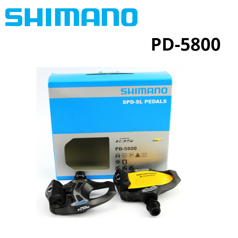 SHIMANO 105 PD 5800 Self-Locking SPD Pedals for Bicycle Racing Road Bike 5800 Pedal with SH11 CleatsSHIMANO 105 PD 5800 Self-Locking SPD Pedals for Bicycle Racing Road Bike 5800 Pedal with SH11 Cleats
