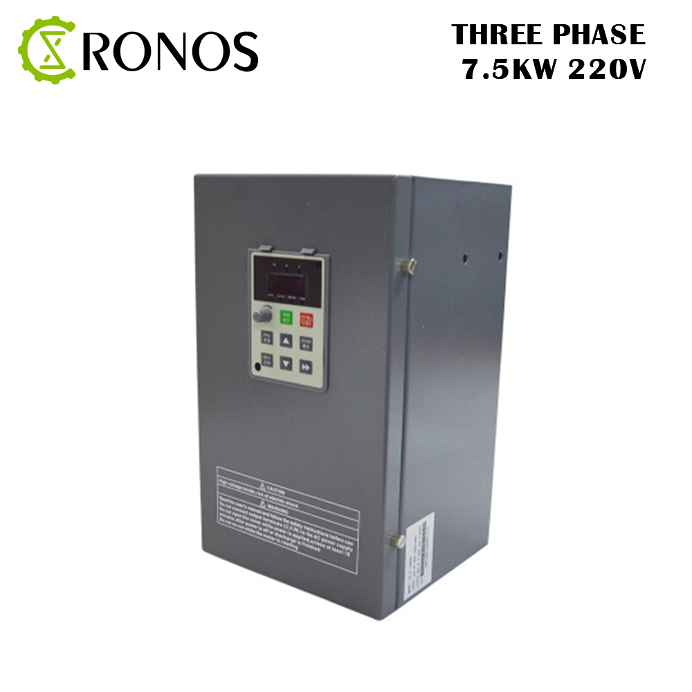 все цены на 220V 7.5 KW Three-Phase 32 A Frequency Inverter Three-phase Input Vector Inverter V8 Series онлайн