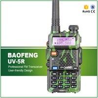 Camouflage Baofeng UV 5R Walkie Talkie 5W Two Way Radio Pofung UV 5R 128CH UHF VHF