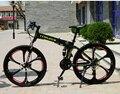 De calidad superior 20/26 Pulgadas bicicleta de montaña plegable 21 Velocidad del Freno de Doble Disco bicicleta completa
