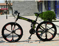 Top quality 20/26 Inch folding mountain bike 21 Speed Double Disc Brake complete bicycle