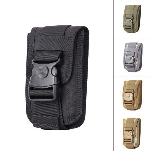 Tactique Molle sac Pochette Ceinture Taille Packs Sac de Poche Militaire Taille Pack Poche pour Doogee S60 Gigaset GS170 Coolpad Note Lite C