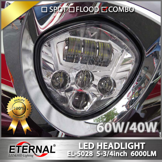 10pcs 60W Victory headlight LED motorcycle headlamp 4x4 offroad Magnum Road ross Country LED Headlight projector headlamp led панель ross rc led panel 288