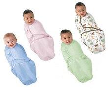 Пеленание sleepsack пеленать обертывание органический конверт подгузники сна младенческой новорожденных лето