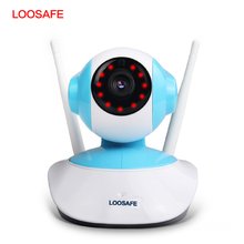 LOOSAFE 720P Wifi Camera Network Smart Surveillance Wifi Camera P2P Megapixel HD Wireless Digital Security Ip Camera for Home