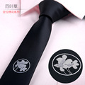 Japan and South Korea business clothing accessories tie A variety of styles wild Jacquard men tie