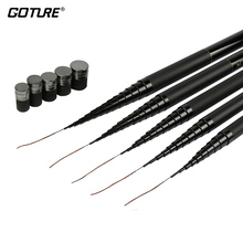 Goture Carbon Fiber Telescopic Fishing Rod 8M 9M 10M 11M 12M Long Ultra Hard Hand Stream Pole For Carp Fishing Accessories
